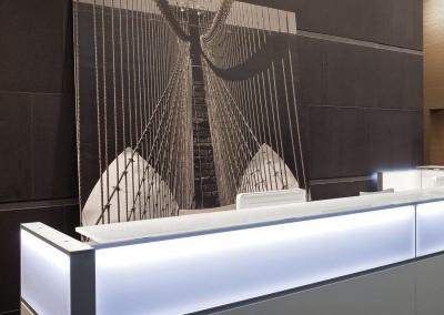 Foto Mostrador LED de Della Valentina DVO